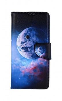 Knížkové pouzdro na Samsung A12 Planeta
