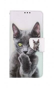 Knížkové pouzdro na Samsung A12 Koťátko
