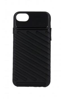 Zadní silikonový kryt Thunder na iPhone SE 2020 černý