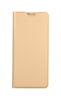 Knížkové pouzdro Dux Ducis na Xiaomi Redmi Note 10 Pro zlaté