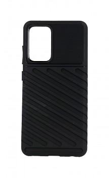 Zadní silikonový kryt Thunder na Samsung A52 černý