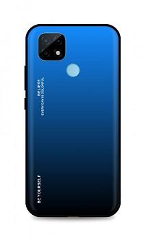 Zadní pevný kryt LUXURY na Realme C21 duhový modrý