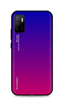 Zadní pevný kryt LUXURY na Xiaomi Poco M3 Pro duhový fialový