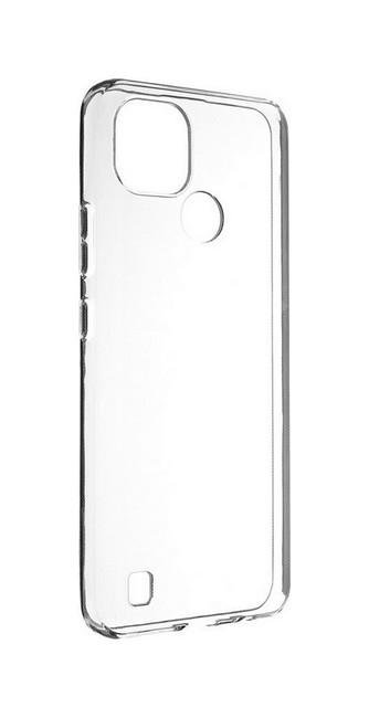 Zadní silikonový kryt na Realme C21 1 mm průhledný