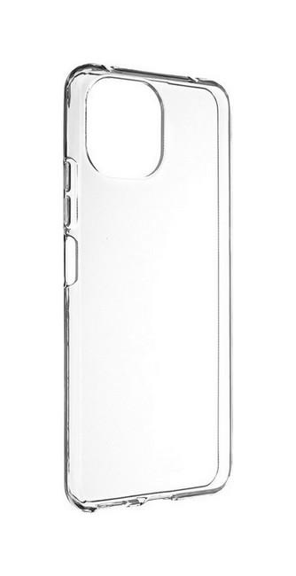 Zadní silikonový kryt na Xiaomi Mi 11 Lite 1 mm průhledný