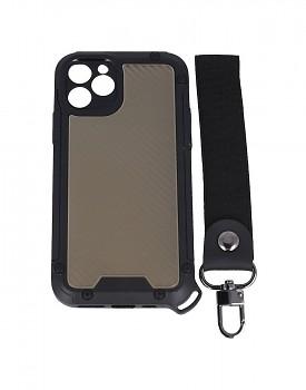 Odolný kryt Shield na iPhone 11 Pro tmavý