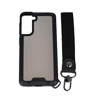 Odolný kryt Shield na Samsung S21 tmavý
