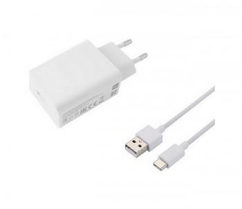 Originální rychlonabíječka Xiaomi MDY-11-EP včetně kabelu USB-C bílá 3A 22,5W