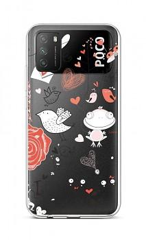 Zadní silikonový kryt na Xiaomi Poco M3 Funny