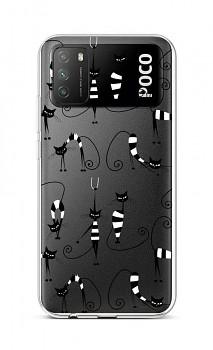 Zadní silikonový kryt na Xiaomi Poco M3 Cats 1