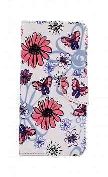 Knížkové pouzdro na Xiaomi Poco M3 Pro Flowers