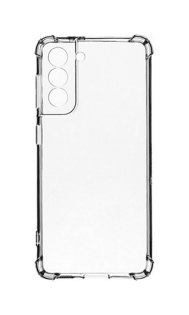 Zadní silikonový kryt Tactical Plyo na Samsung S21 Plus průhledný