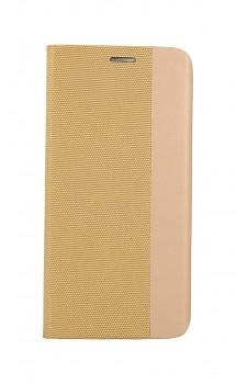 Knížkové pouzdro Sensitive Book na Samsung A32 zlaté