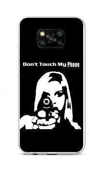 Zadní silikonový kryt na Xiaomi Poco X3 Don't Touch Gun