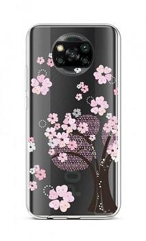 Zadní silikonový kryt na Xiaomi Poco X3 Cherry Tree