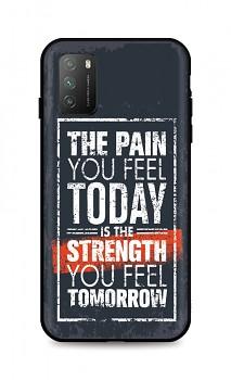 Zadní silikonový kryt DARK na Xiaomi Poco M3 Strength