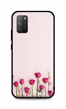 Zadní silikonový kryt DARK na Xiaomi Poco M3 Roses