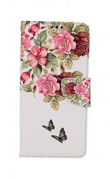 Knížkové pouzdro na Xiaomi Poco X3 Něžné květy