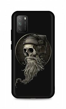 Zadní silikonový kryt DARK na Xiaomi Poco M3 Music Skeleton