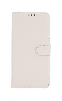 Knížkové pouzdro Realme C21 bílé s přezkou