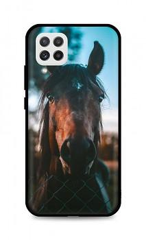 Zadní silikonový kryt DARK na Samsung A22 Horse