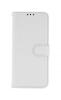 Knížkové pouzdro na Samsung A22 bílé s přezkou