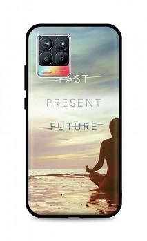 Zadní silikonový kryt DARK na Realme 8 Present