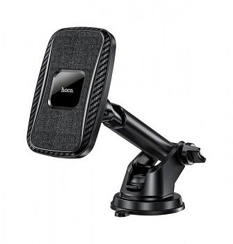 Držák na mobil s funkcí bezdrátového nabíjení HOCO CA75 černý