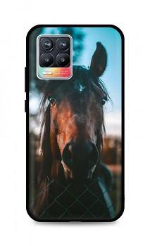 Zadní silikonový kryt DARK na Realme 8 Horse