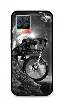 Zadní silikonový kryt DARK na Realme 8 Mountain Rider