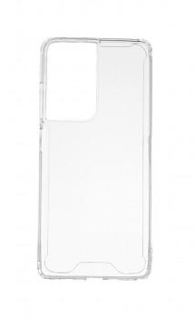 Zadní pevný kryt Acrylic na Samsung S21 Ultra průhledný