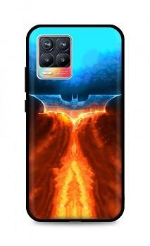 Zadní silikonový kryt DARK na Realme 8 Fiery Batman