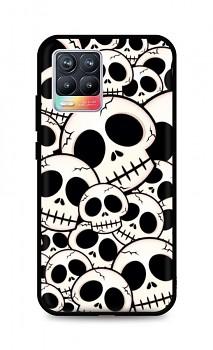 Zadní pevný kryt LUXURY na Realme 8 Skulls