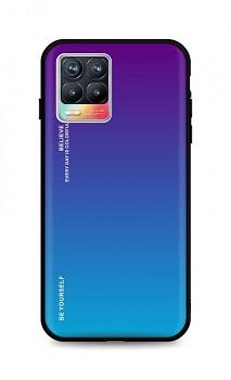 Zadní pevný kryt LUXURY na Realme 8 duhový purpurový