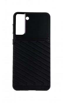 Zadní silikonový kryt Thunder na Samsung S21 Plus černý