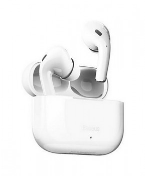Bezdrátová sluchátka Baseus Encok W3 TWS bílá