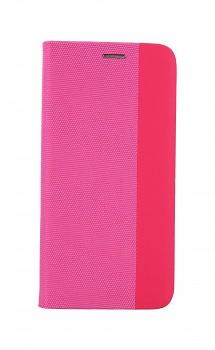Knížkové pouzdro Sensitive Book na Xiaomi Redmi Note 10S růžové