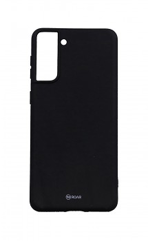 Zadní silikonový kryt Roar na Samsung S21 Plus černý