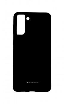 Zadní silikonový kryt Mercury Silicone na Samsung S21 Plus černý