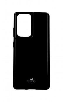 Zadní silikonový kryt Mercury Jelly Case na Samsung S21 Ultra černý