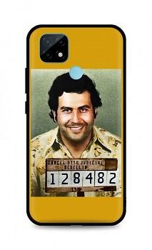 Zadní silikonový kryt DARK na Realme C21 Pablo Escobar