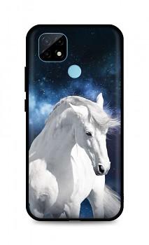 Zadní silikonový kryt DARK na Realme C21 White Horse