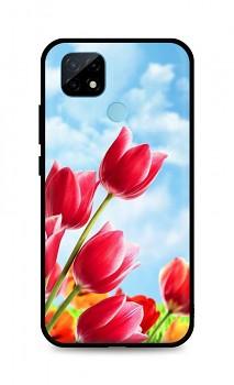 Zadní silikonový kryt DARK na Realme C21 Tulips