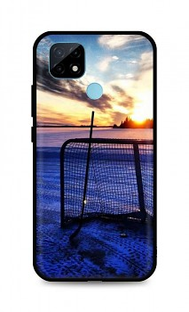 Zadní silikonový kryt DARK na Realme C21 Hockey Sunset