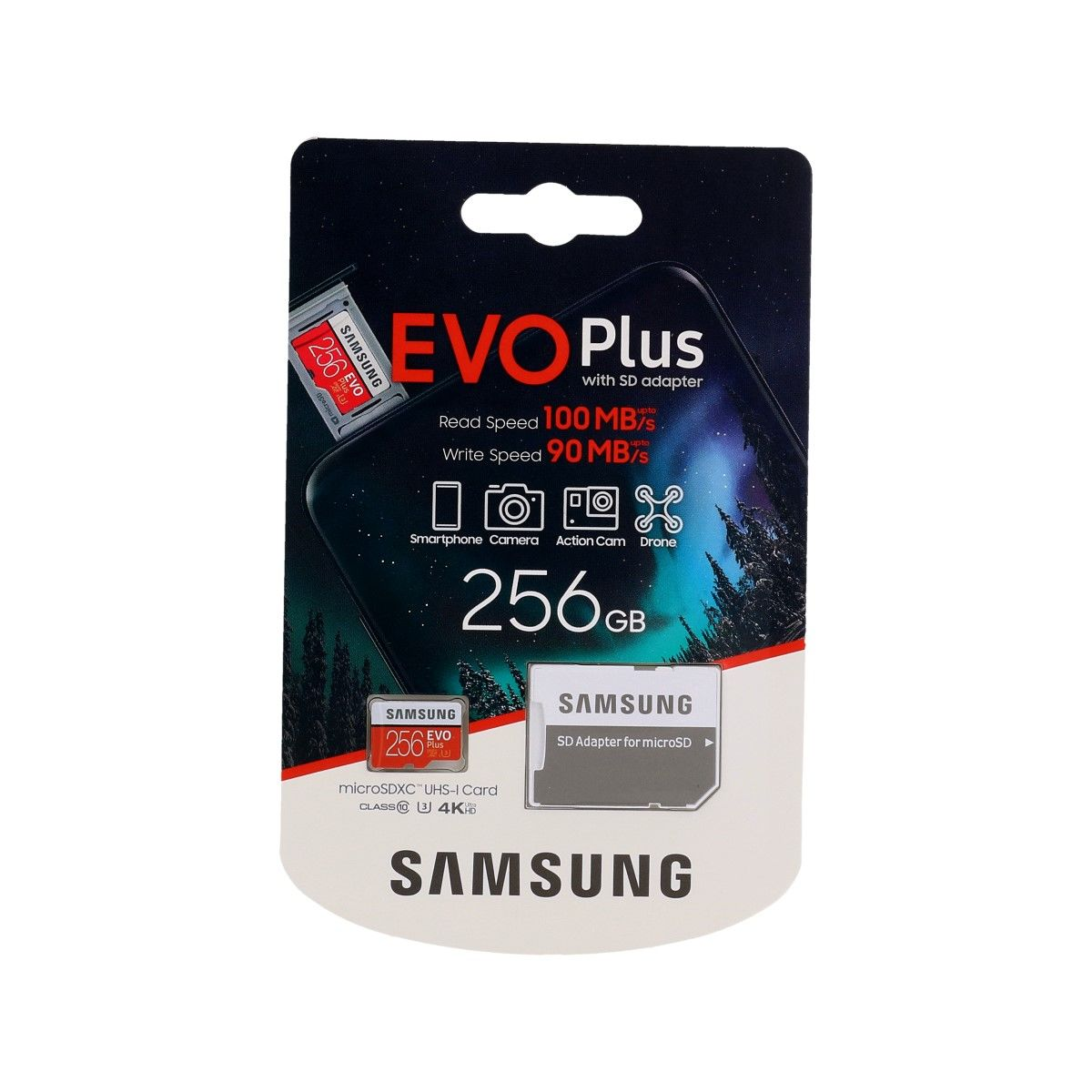Paměťová karta Samsung micro SDXC karta 256GB EVO Plus 61733