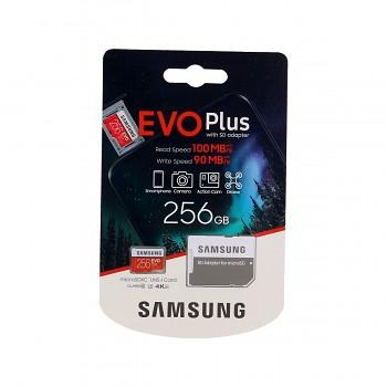 Paměťová karta Samsung micro SDXC karta 256GB EVO Plus