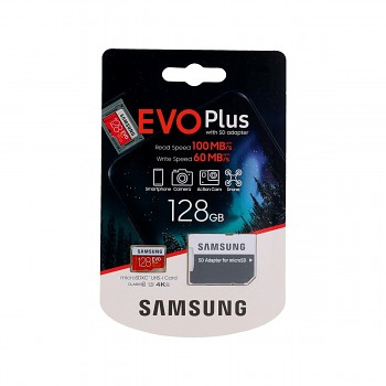 Paměťová karta Samsung micro SDXC karta 128GB EVO Plus