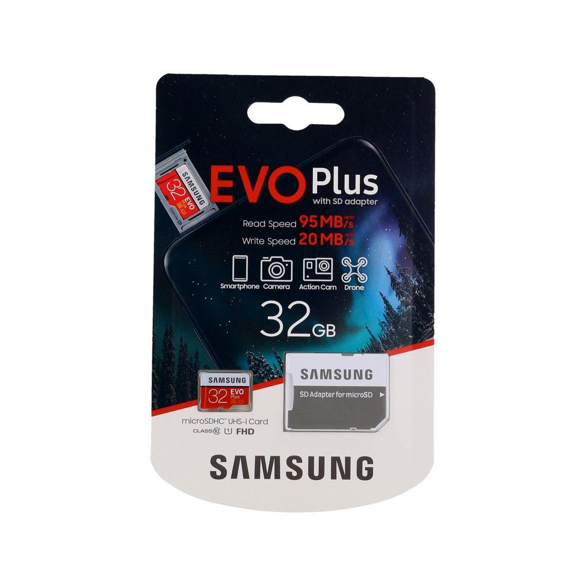 Paměťová karta Samsung micro SDHC karta 32GB EVO Plus 61748