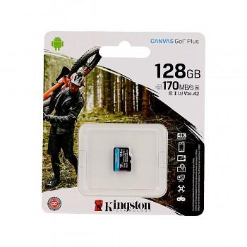 Paměťová karta Kingston 128GB micro SDXC Canvas Go Plus bez adaptéru