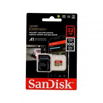 Paměťová karta SanDisk Extreme 32GB micro SDHC